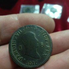 Monedas de España: 8 MARAVEDÍS DE FERNANDO 7. Lote 273960228
