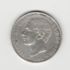Monedas de España: ALFONSO XII- 5 PESETAS- 1884*18-84 MSM. Lote 274018473