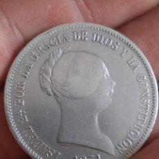 Moedas de Espanha: GRAN OFERTA!!! RARA - 20 REALES ISABEL II BARCELONA 1851 - RARA. Lote 274891633