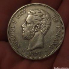 Monedas de España: 5 PESETAS 1871*18,71. Lote 275341693