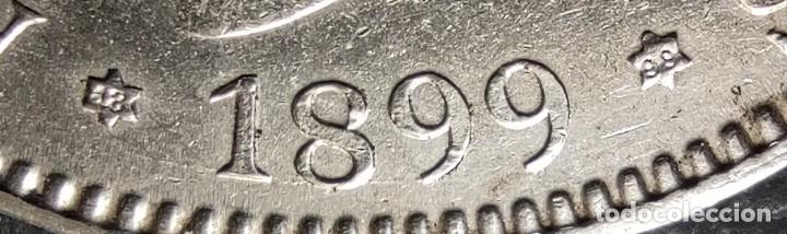 Monedas de España: DE COLECCION 5 pesetas plata 1899 SG.V *18* *99* - Alfonso XIII ¡¡¡¡¡LIQUIDACION !!! - Foto 2 - 276192288