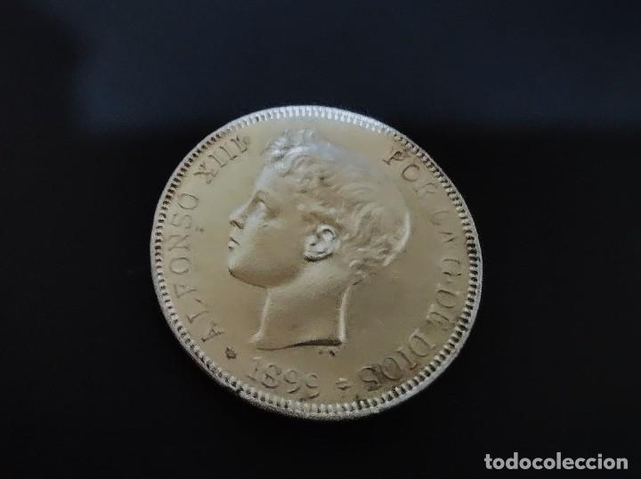Monedas de España: DE COLECCION 5 pesetas plata 1899 SG.V *18* *99* - Alfonso XIII ¡¡¡¡¡LIQUIDACION !!! - Foto 6 - 276192288