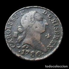 Monnaies d'Espagne: CARLOS III SEGOVIA 4 MARAVEDIS 1780. Lote 276457123
