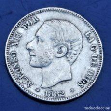 Monedas de España: 2 PESETAS ESPAÑA 1882. Lote 276748653