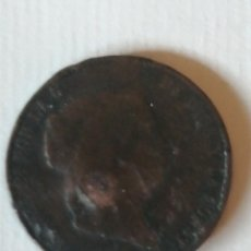 Monedas de España: 25 CENTIMOS REAL ISABEL II -1858. Lote 276753193