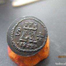 Monedas de España: 1/4 REAL SANTIAGO DE CHILE 1814. Lote 276786348