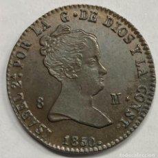 Monedas de España: ESPAÑA, ISABEL II, MONEDA DE 8 MARAVEDÍES, AÑO 1850. Lote 276803113