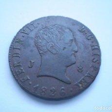 Monedas de España: 71SCE14 ESPAÑA FERNANDO VII 8 MARAVEDÍS 1826 JUBIA. Lote 276964553