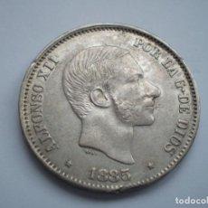Monedas de España: 89SCE14 FILIPINAS ALFONSO XII 50 CÉNTIMOS DE PLATA 1885. Lote 276967018