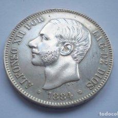 Monedas de España: 49SCF15 ESPAÑA ALFONSO XII 5 PESETAS DE PLATA 1884 (18-84) MSM. Lote 277099733