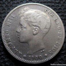 Monedas de España: 1 PESETA 1900 ALFONSO XIII -PLATA- REF.387. Lote 277163433