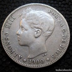 Monedas de España: 1 PESETA 1900 ALFONSO XIII -PLATA- REF.386. Lote 277163618