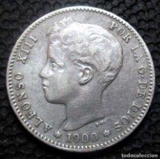 Monedas de España: 1 PESETA 1900 ALFONSO XIII -PLATA- REF.384. Lote 277164183