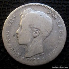 Monedas de España: 1 PESETA 1899 ALFONSO XIII -PLATA- REF.381. Lote 277165803