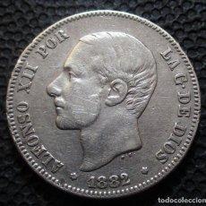 Monedas de España: 2 PESETAS 1882 ALFONSO XII -PLATA- REF.347. Lote 277515743