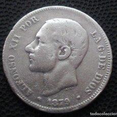 Monedas de España: 2 PESETAS 1879 ALFONSO XII -PLATA- REF.343. Lote 277517608