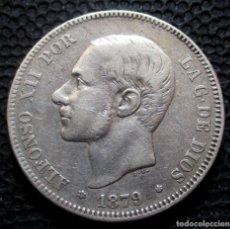 Monedas de España: 2 PESETAS 1879 *18*-*79* ALFONSO XII (3 FOTOS) -PLATA- REF.342. Lote 277518128