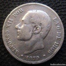 Monedas de España: 2 PESETAS 1879 ALFONSO XII -PLATA- REF.340. Lote 277518538
