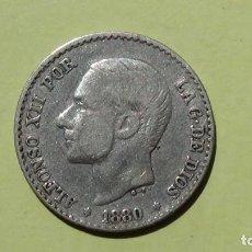 Monedas de España: ALFONSO XII 50 CENTIMOS 1880 MBC. (M58). Lote 277631038