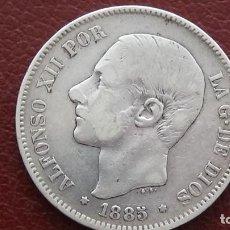 Monedas de España: ALFONSO XII 5 PESETAS 1.885 *18-87.(M57). Lote 277631428