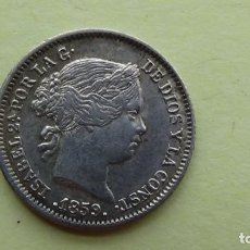 Monedas de España: ISABEL II - 1 REAL 1859 MADRID EBC.(M53). Lote 277634928