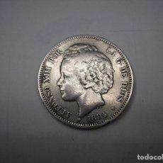 Monedas de España: 2 PESETAS DE PLATA DE 1894. 18-94 . REY ALFONSO XIII. Lote 277763573