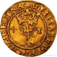 Monedas de España: [#908345] MONEDA, ESPAÑA, CATHOLICS KINGS, 1/2 EXCELLENTE, 1492-1530, TOLEDO, EXTREMELY. Lote 278172188