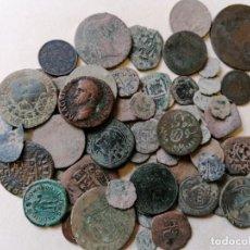 Monedas de España: LOTE 70 MONEDAS DE TODAS LAS EPOCAS. Lote 278182163