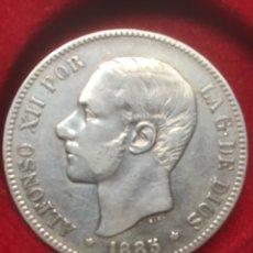 Monedas de España: ALFONSO XIII. 5 PESETAS. 1985 / * 87. MP.M. PLATA. MAGNIFICA.. Lote 278266908