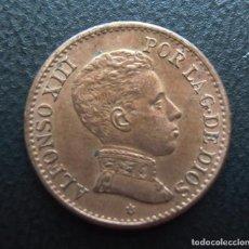 Monedas de España: ALFONSO XIII, 1 CENTIMO 1906 SL-V, ESTRELLA 6. Lote 278276823