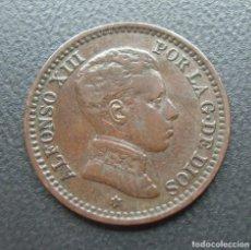 Monedas de España: ALFONSO XIII, 2 CENTIMOS 1905 SM-V, ESTRELLA 05. Lote 278277003
