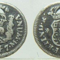 Monedas de España: MONEDA DE FERNANDO VI 1747 1/2 REAL MEJICO. Lote 278493193