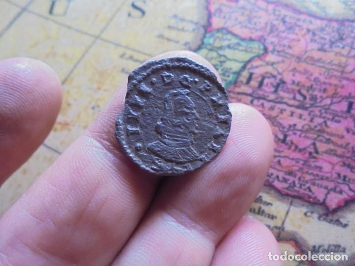 BONITA MONEDA DE 8 MARAVEDIS DE FELIPE IV (Numismática - España Modernas y Contemporáneas - De Reyes Católicos (1.474) a Fernando VII (1.833))