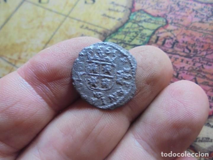 Monedas de España: BONITA MONEDA DE 8 MARAVEDIS DE FELIPE IV - Foto 2 - 278512893