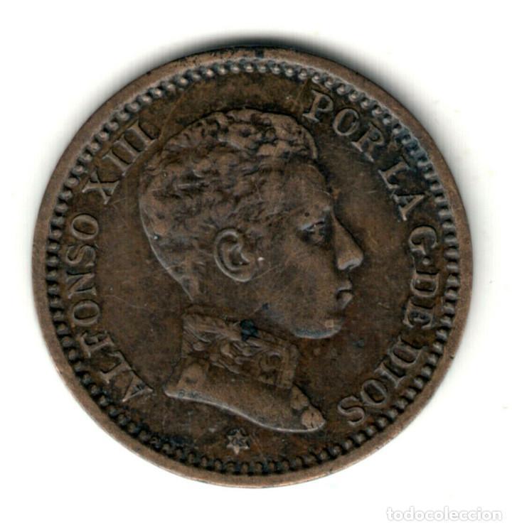 ESPAÑA 2 CENTIMOS 1912 *12* PC.V. REY ALFONSO XIII CECA MADRID (Numismática - España Modernas y Contemporáneas - De Isabel II (1.834) a Alfonso XIII (1.931))