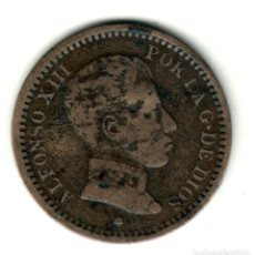 Monedas de España: ESPAÑA 2 CENTIMOS 1904 *04* REY ALFONSO XIII CECA MADRID. Lote 278553023