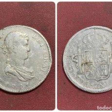Monedas de España: ESPAÑA. 8 REALES. REY FERNANDO VII.1821. GUADALAJARA. FS. VER FOTOS. Lote 278676398