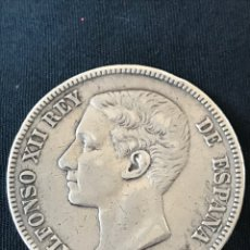 Monedas de España: MONEDA ALFONSO XII 5 PESETAS 1876. Lote 278832038