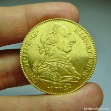 Monedas de España: 4 ESCUDOS. ORO. CARLOS III. SEVILLA - 1774 - CF. Lote 279549013