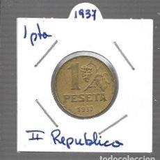 Monedas de España: MONEDA DE ESPAÑA II REPUBLICA LA QUE VES ORIGINAL. Lote 279592008