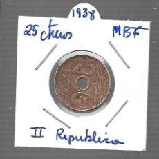Monedas de España: MONEDA DE ESPAÑA II REPUBLICA LA QUE VES ORIGINAL. Lote 279592728