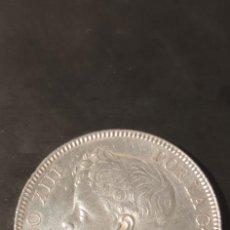 Monedas de España: MONEDA 5 PESETAS ALFONSO XIII 1.899 ESTRELLAS 18-99, DURO DE PLATA. EBC.. Lote 282223238