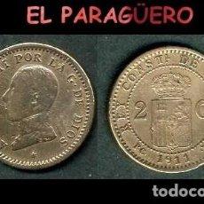 Monedas de España: ESPAÑA MONEDA AUTENTICA DE 2 CENTIMOS PCV AÑO 1911*11 ALFONSO XIII REY DE ESPAÑA DE 1886 A 1931 - N2. Lote 282963258