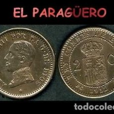 Monedas de España: ESPAÑA MONEDA AUTENTICA DE 2 CENTIMOS PCV AÑO 1912*12 ALFONSO XIII REY DE ESPAÑA DE 1886 A 1931 - N5. Lote 282974383