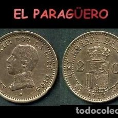 Monedas de España: ESPAÑA MONEDA AUTENTICA DE 2 CENTIMOS PCV AÑO 1912*12 ALFONSO XIII REY DE ESPAÑA DE 1886 A 1931 - N9. Lote 282982458