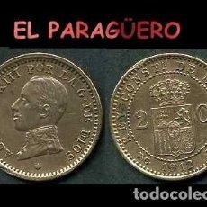 Monedas de España: ESPAÑA MONEDA AUTENTICA DE 2 CENTIMOS PCV AÑO 1912*12 ALFONSO XIII REY DE ESPAÑA DE 1886 A 1931 - N8. Lote 282982468