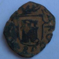 Monedas de España: MONEDA ESPAÑA CARLOS II 2 MARAVEDÍS ERROR EN ESCUDO 168..MUY RARO +++. Lote 284593068
