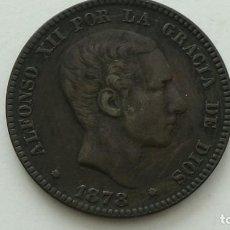 Monedas de España: ALFONSO XII 10 CENTIMOS 1878 MBC+. - ESCASA EN ESTA CONSERVACION. (M90). Lote 284684918