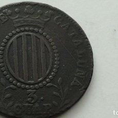 Monedas de España: ISABEL II - 3 CUARTOS 1844 BARCELONA MBC. (M84). Lote 284685058