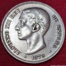 Monedas de España: ALFONSO XLL 5 PESETAS PLATA 1875*75. Lote 285684863
